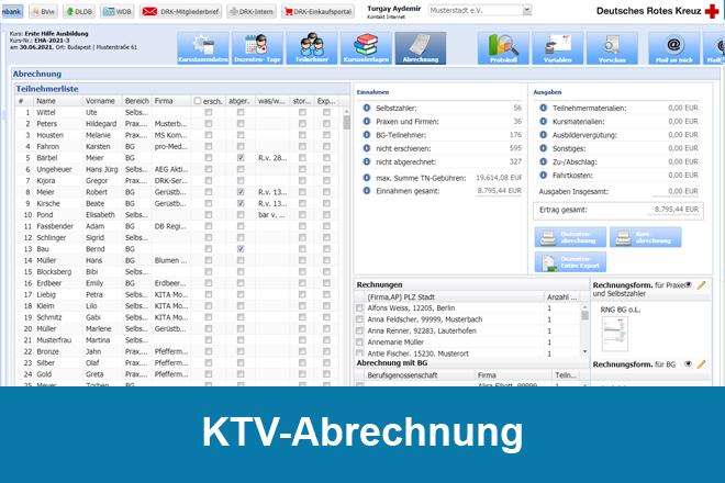 KTV-Abrechnung