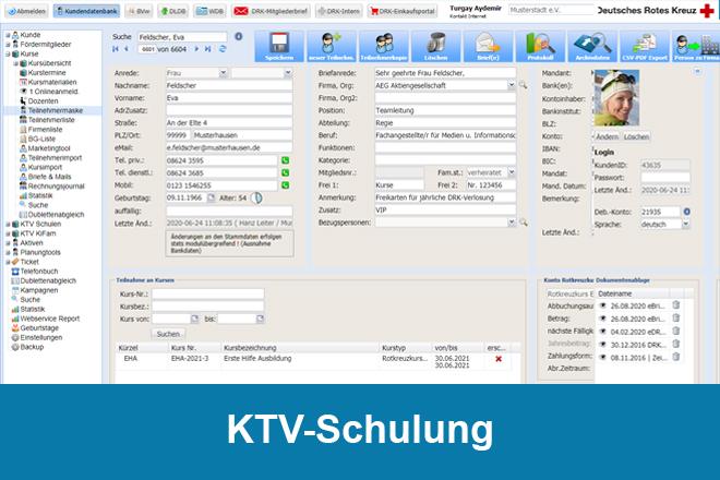 Allgemeine KTV-Schulung